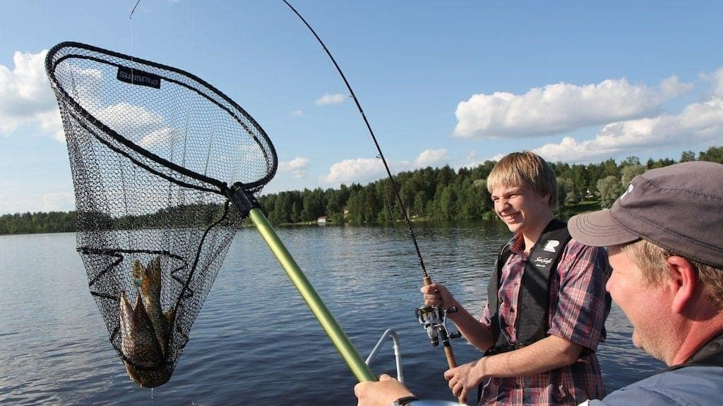 spinfishing safari with LakelandGTE