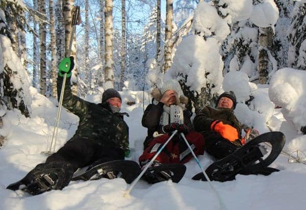 Snowshoe safari in winter wonderland near you