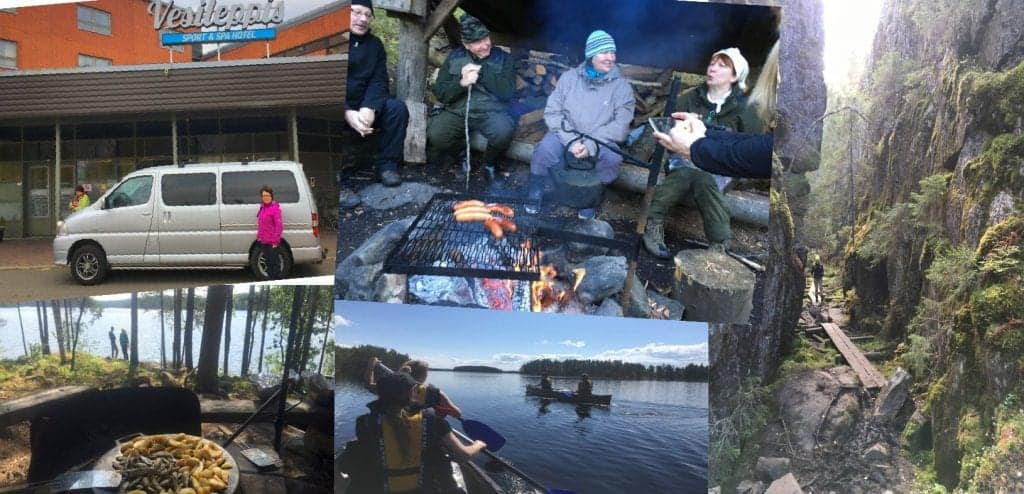 adventure bus tours Saimaa Finland Savo
