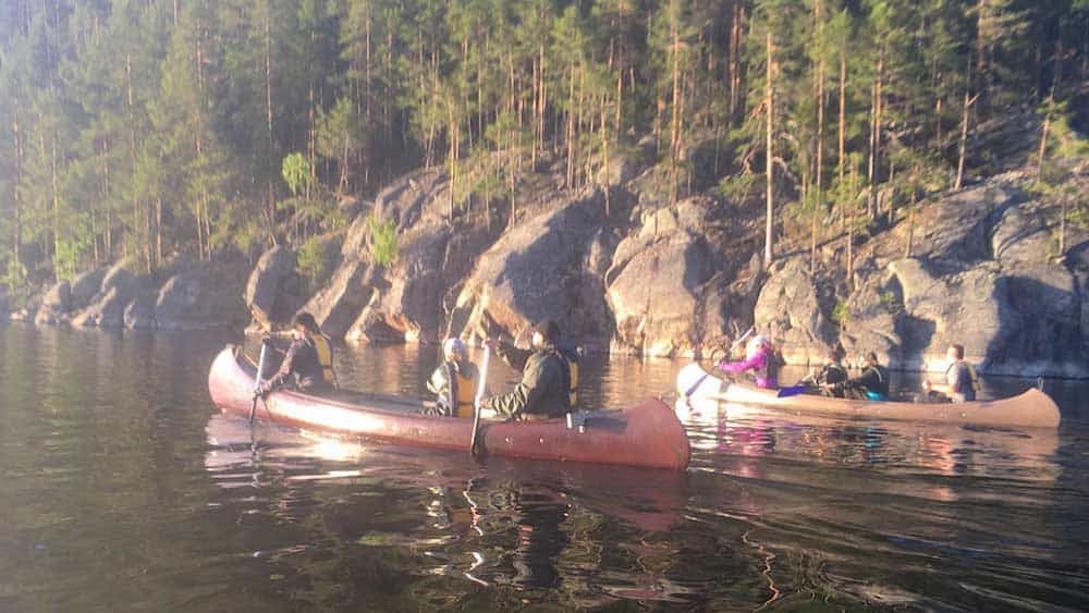 guided canoe tours LakelandGTE