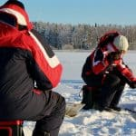 talvikalastusretki saimaalla winter fishing adventure in saimaa Puumala by Lakelandgte